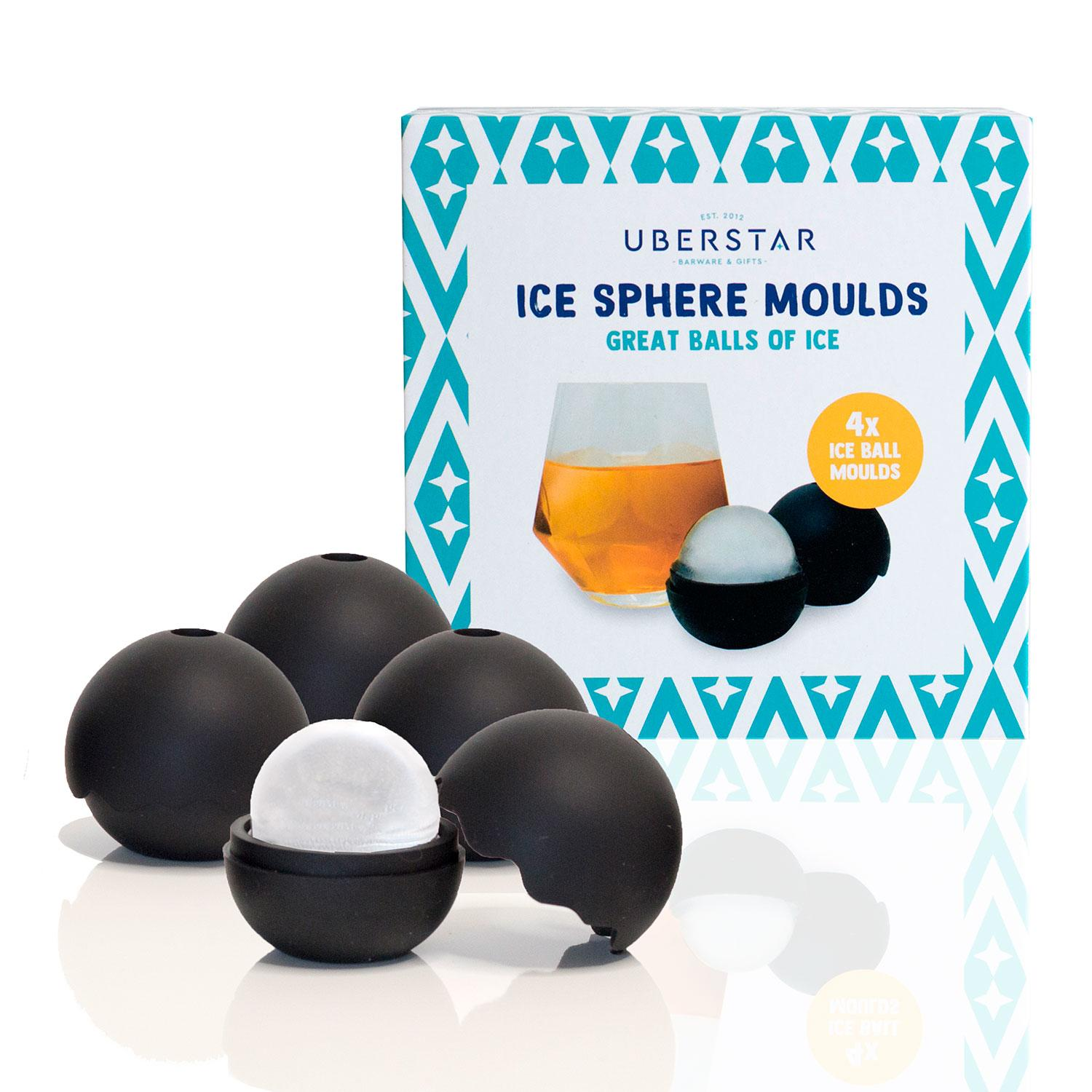 Uberstar Ice Sphere Moulds - Only £14.99