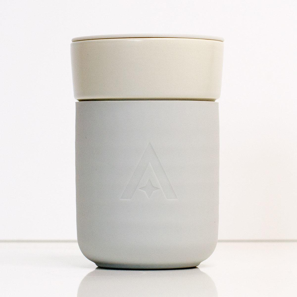 Carry Cup - The Universal Travel Mug by Uberstar (Natural Stone)