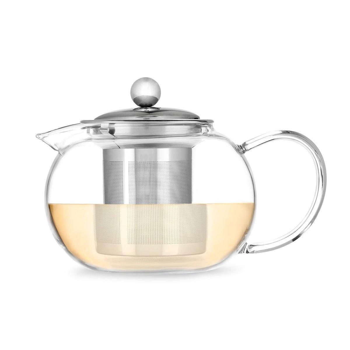 Candace 800ml Glass Teapot and Infuser - Only £29.99