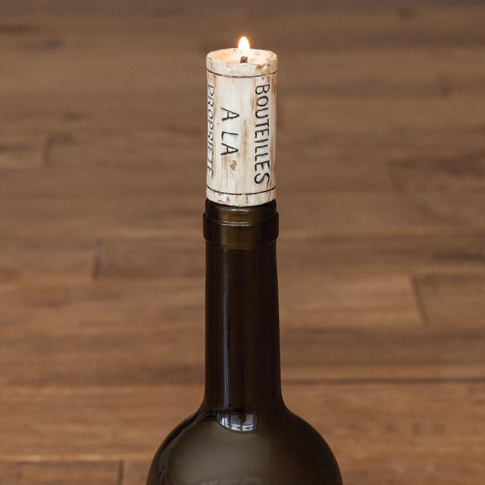 Wine Cork Candles - Set of 4. Only £12.99 | Uberstar.com