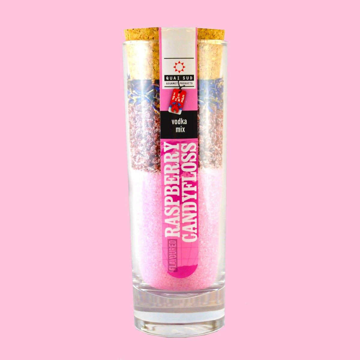 Raspberry and Candy Floss Vodka Mix - Only £10.99 | UBERSTAR