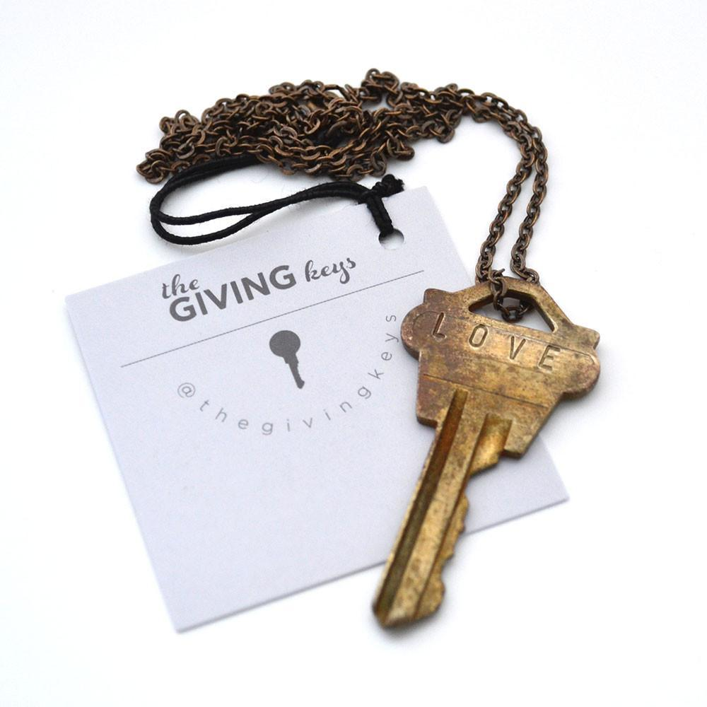 The Giving Keys - Brass
