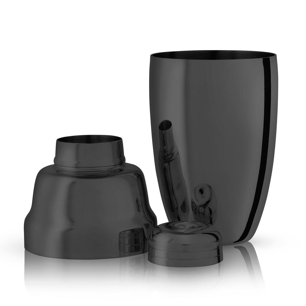 Viski Warren Gunmetal Professional Cocktail Shaker