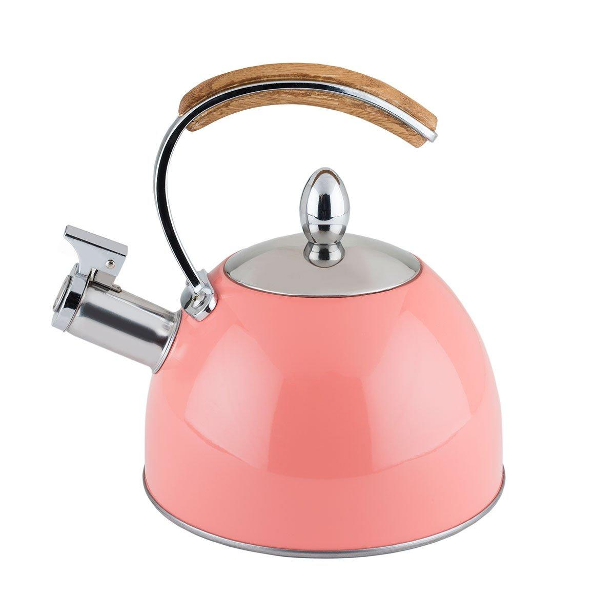 Pretty Peach Stovetop Kettle - Only £39.99 from Uberstar.com