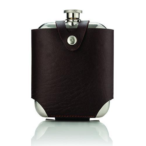 Admiral Hip Flask and Travel Case - Only £22.99 Uberstar.com