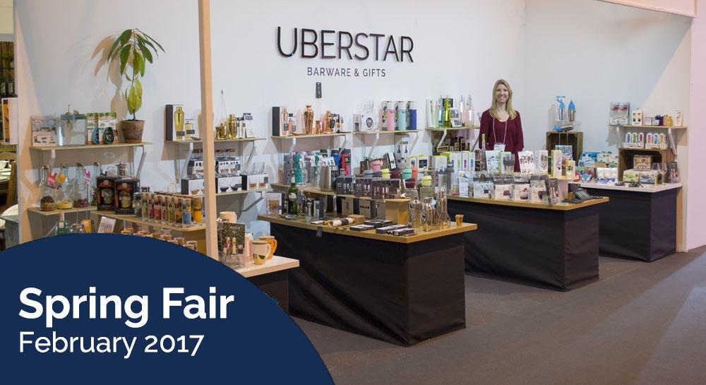 Uberstar Spring Fair Stand 2017