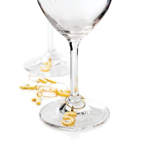 Belmont Gold Plated Wine Charms