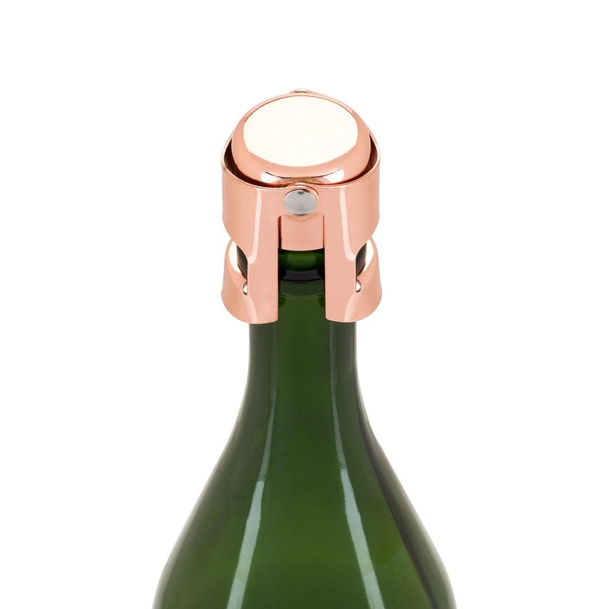 Uberstar Champagne Stopper - Rose Gold - Only £6.99