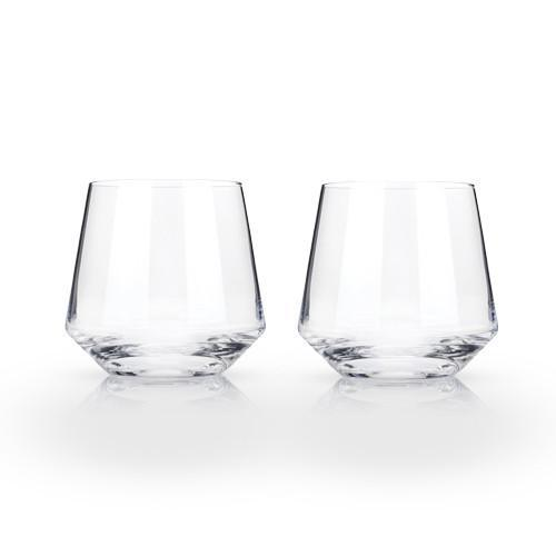 Raye Crystal Cocktail Glass Set - Only £22.99