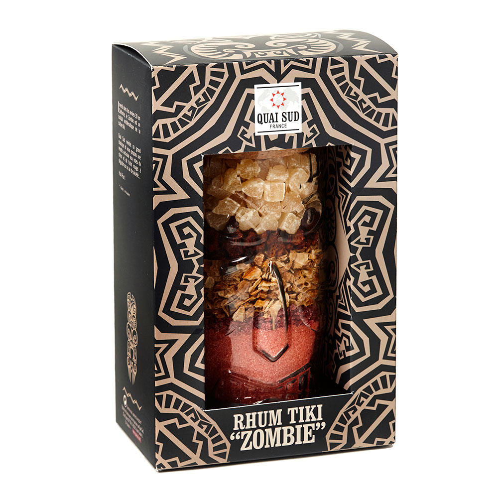 Tiki Zombie Cocktail
