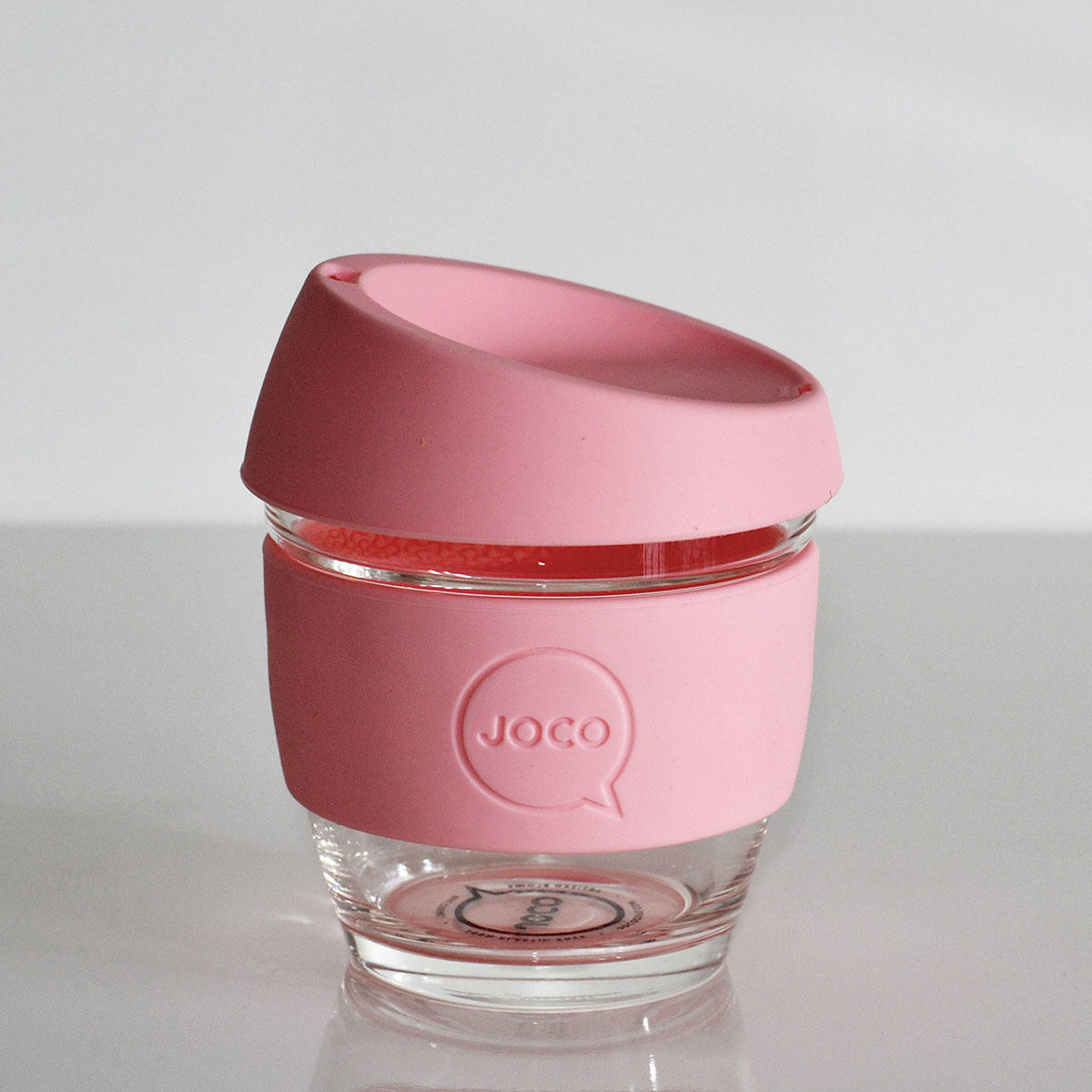 JOCO Cup 8oz Strawberry Pink