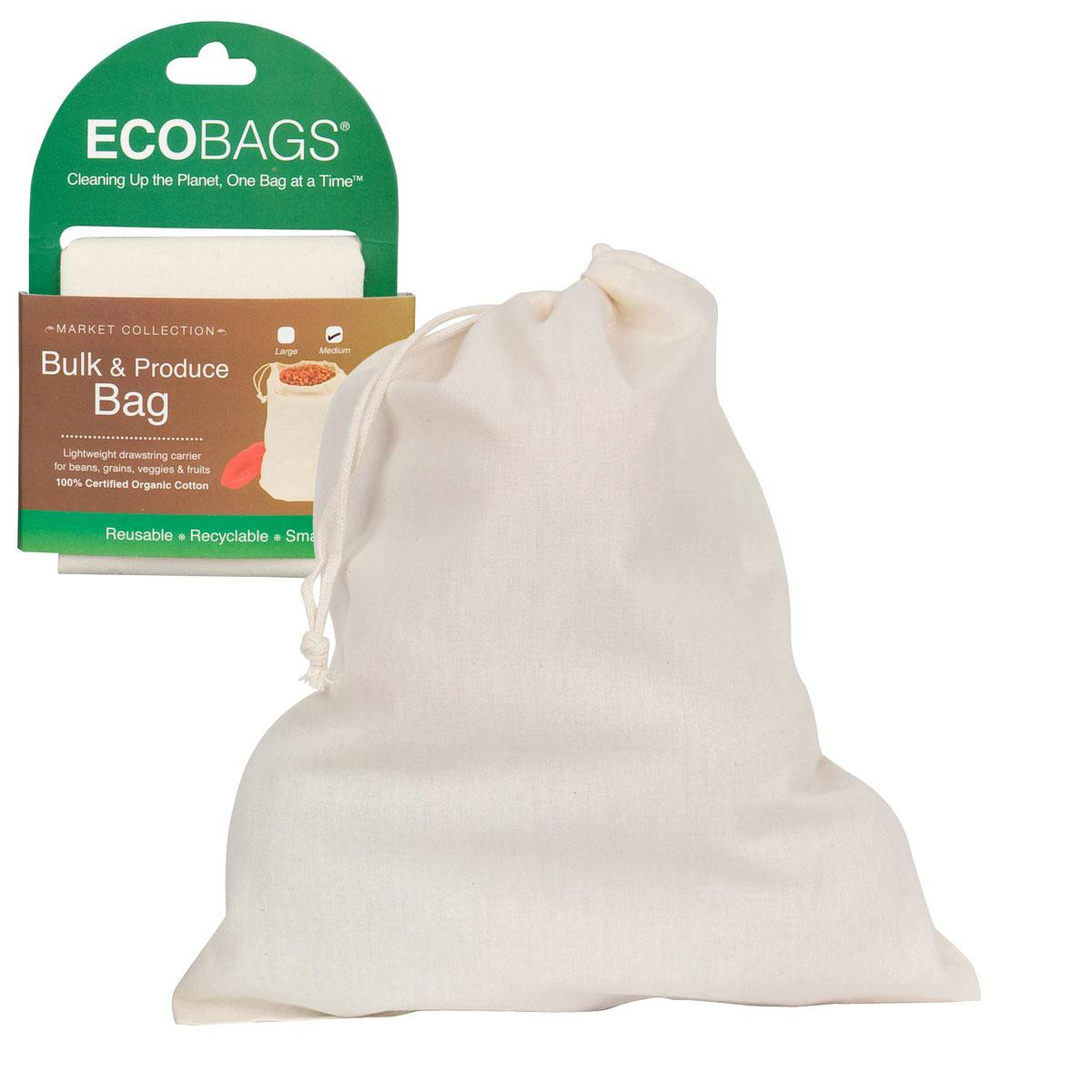 ECOBAGS Reusable Cotton Grocery Bag