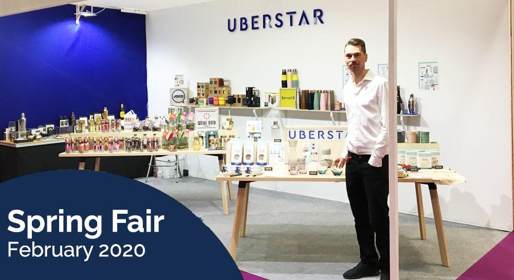 Uberstar Spring Fair Stand 2020