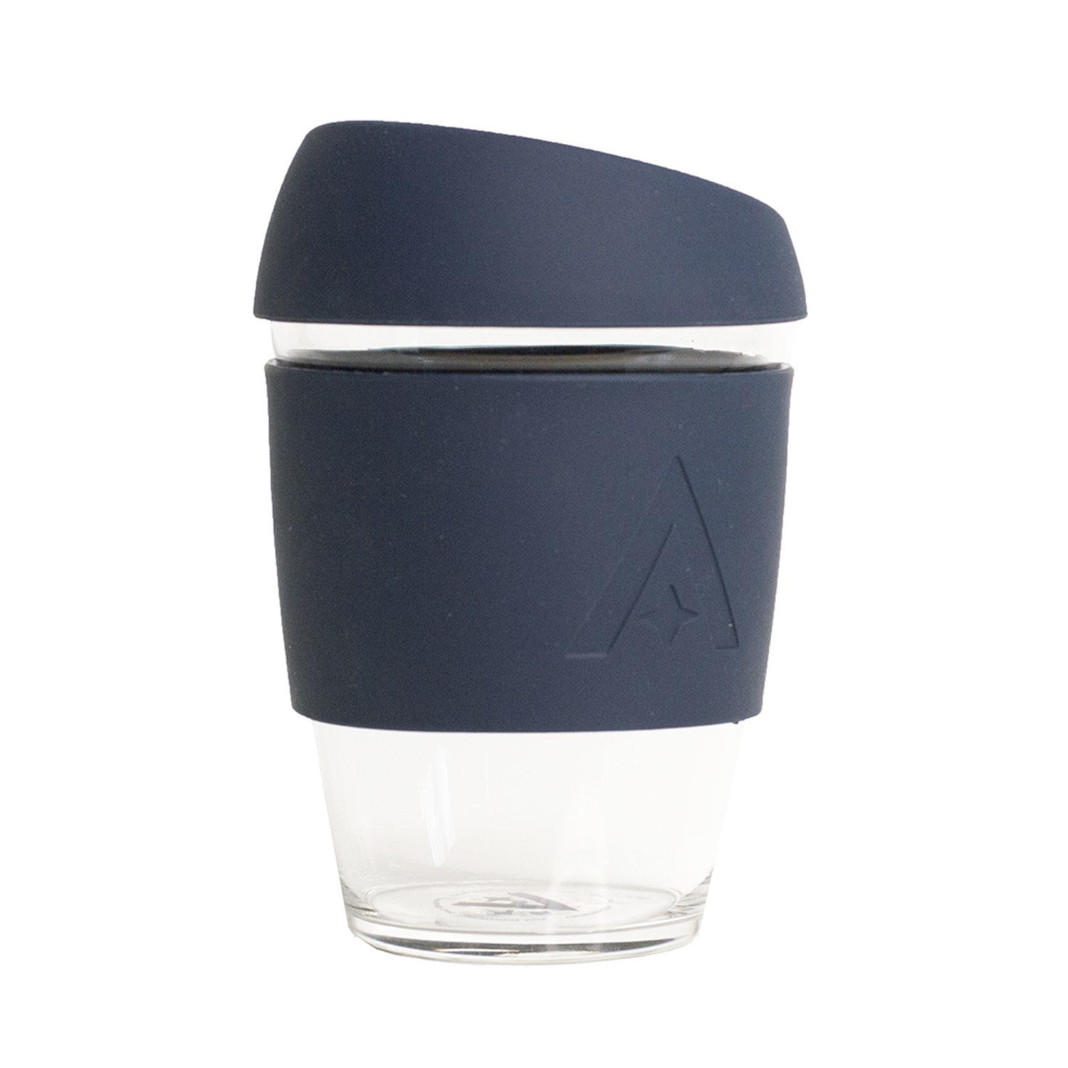 Uberstar Reusable Glass Travel Cup - Mood Indigo - Only £14.99