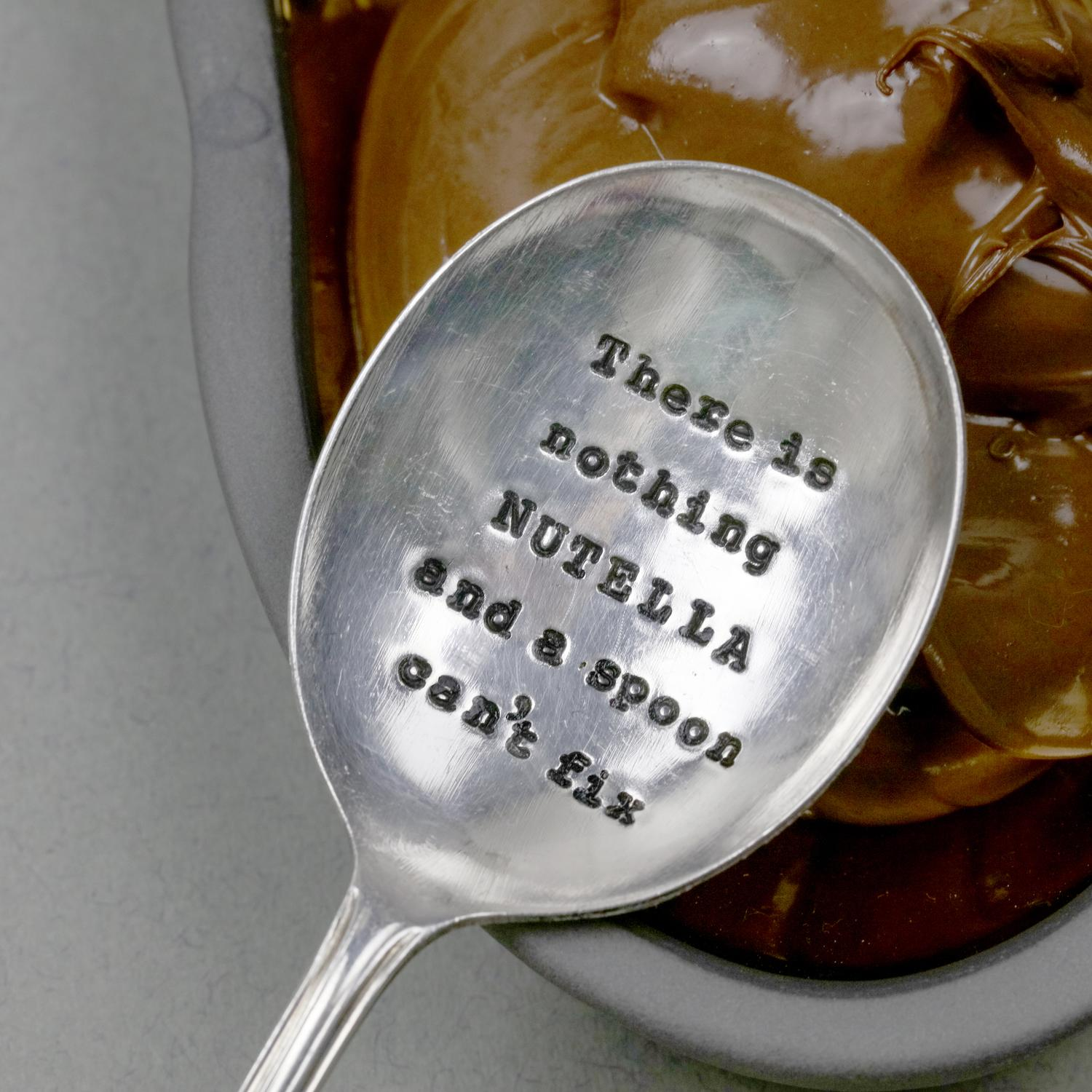 Nutella Silver Spoon