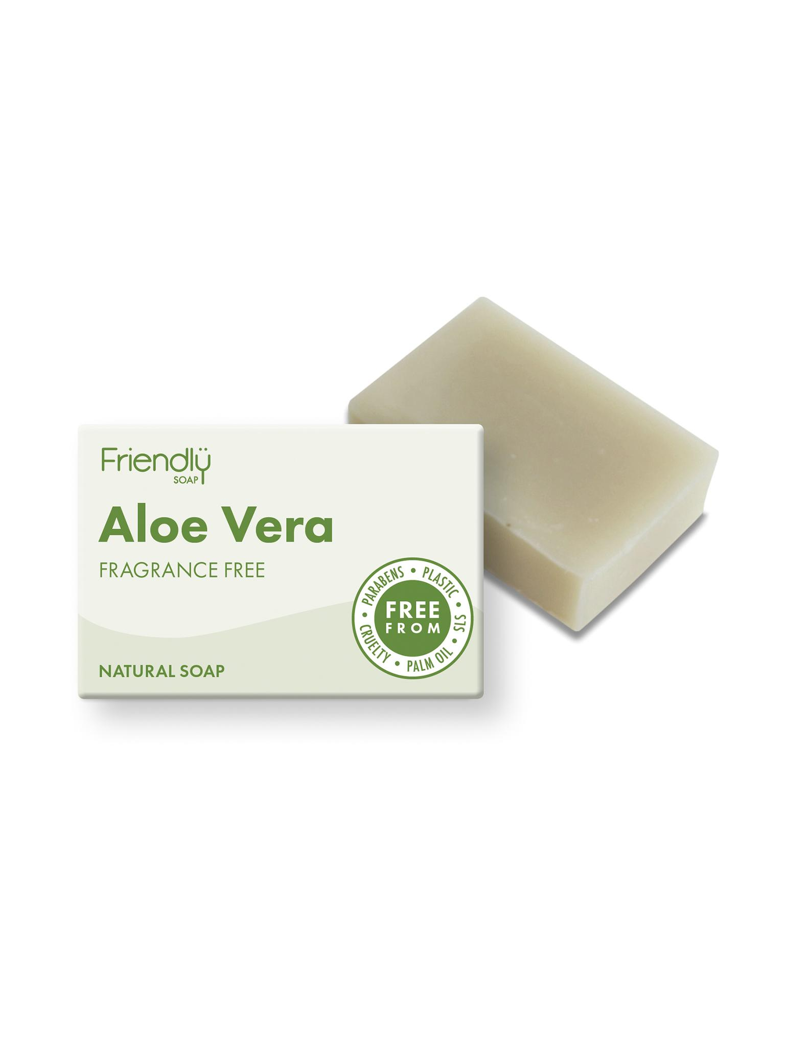 Friendly  - Aloe Vera Soap with box