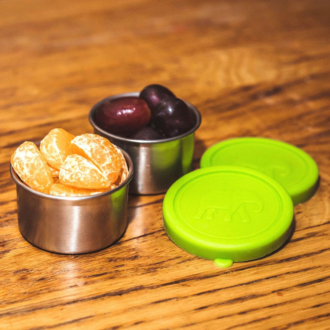 Elephant Box Seal & Go Stainless Steel Snack Pots - 2 x 100ml - lifestyle