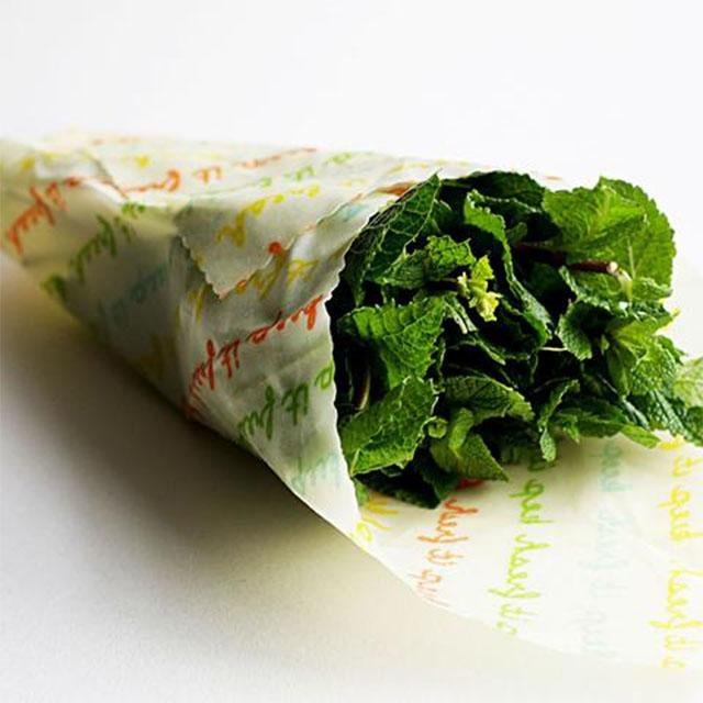 Vegan Food Wraps - Organic Cotton