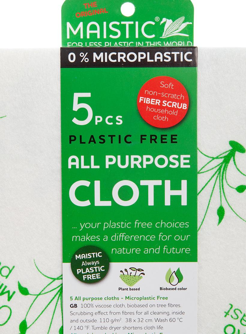 MAISTIC® All Purpose Cloth - Pack of 5 stand alone