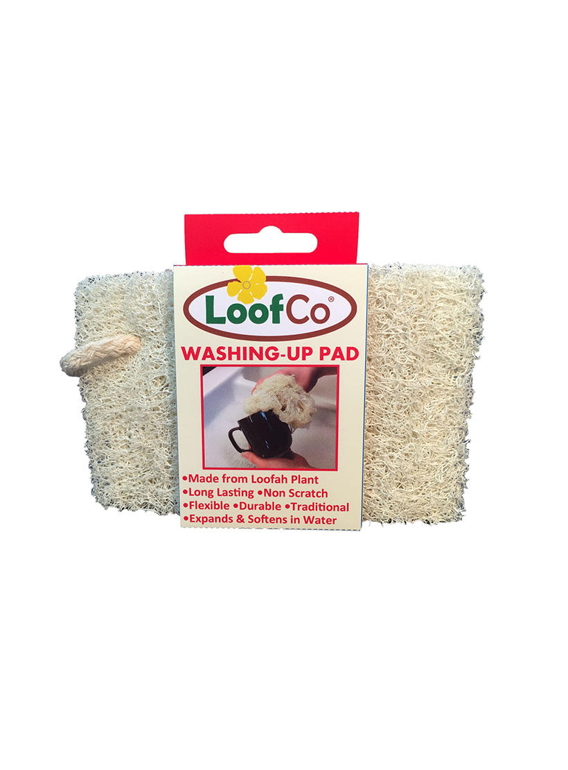 LoofCo dishwashing pad in packaging