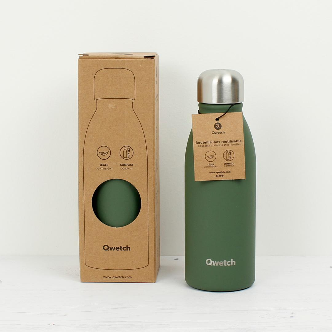 Stainless Steel ONE Bottle - Granite - Khaki - 500ml with box