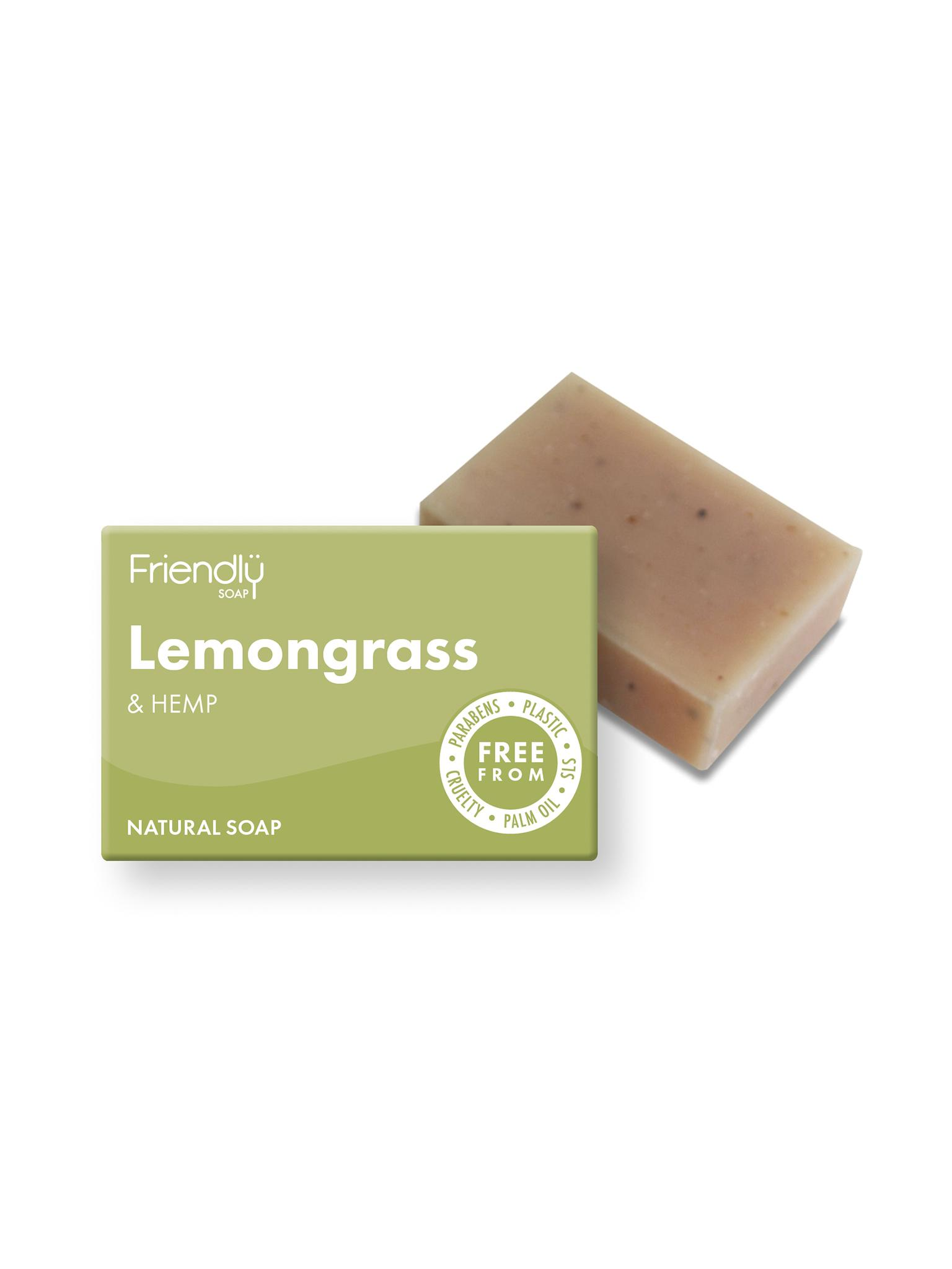 Friendly  - Lemongrass & Hemp Soap