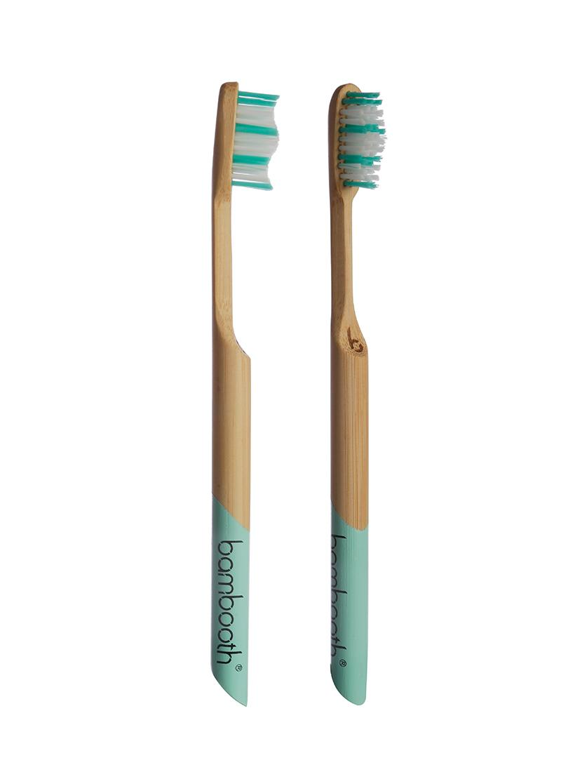Bambooth® - Aqua Marine - Medium Bristles
