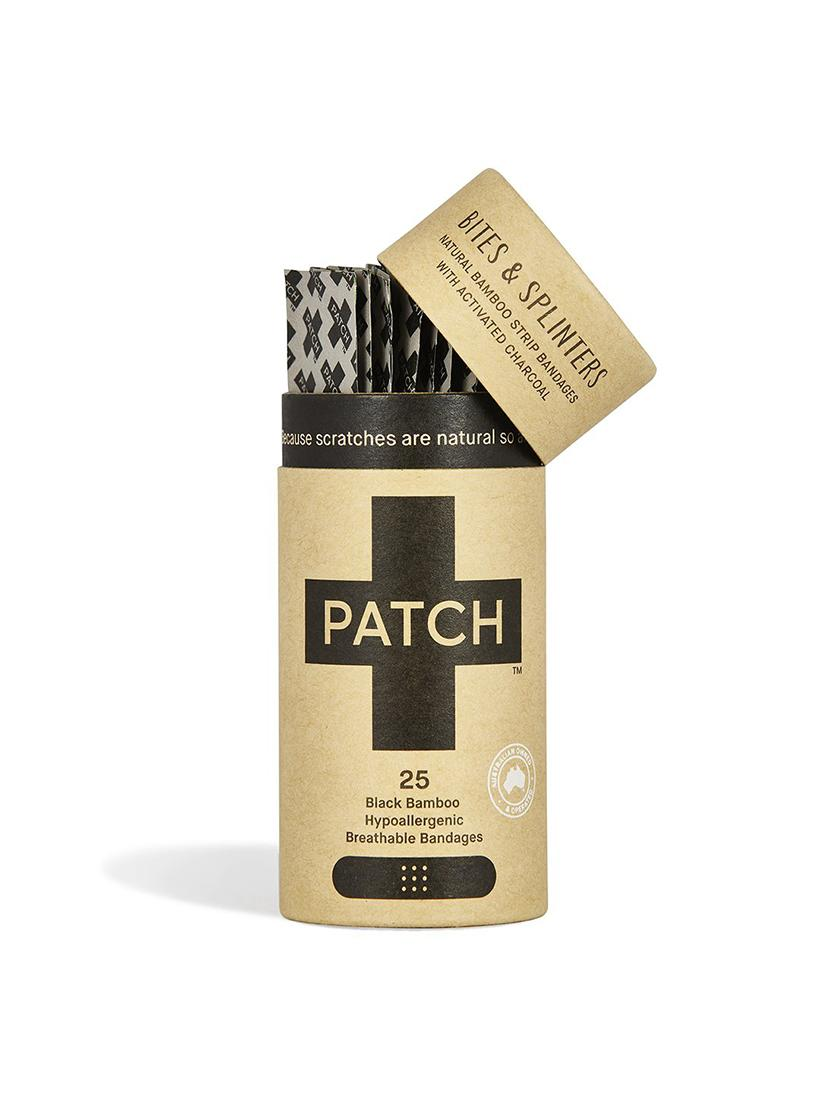 PATCH - Organic Bamboo Plasters  - activated charcoal