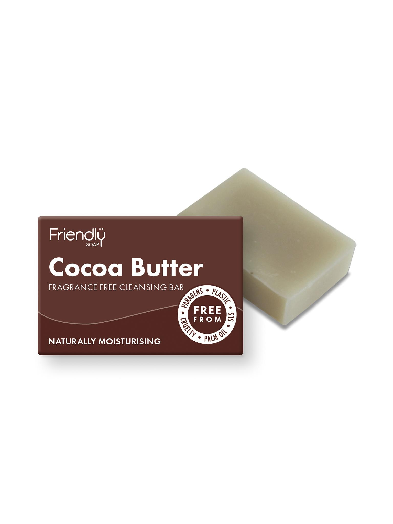Friendly Soap - Cocoa Butter Butter Facial Cleansing Bar
