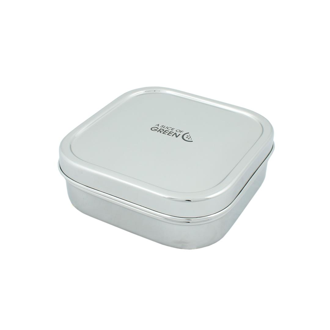 Large Square Stainless Steel Container (Shimla)