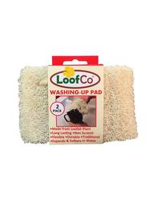 LoofCo dishwashing pads in packaging