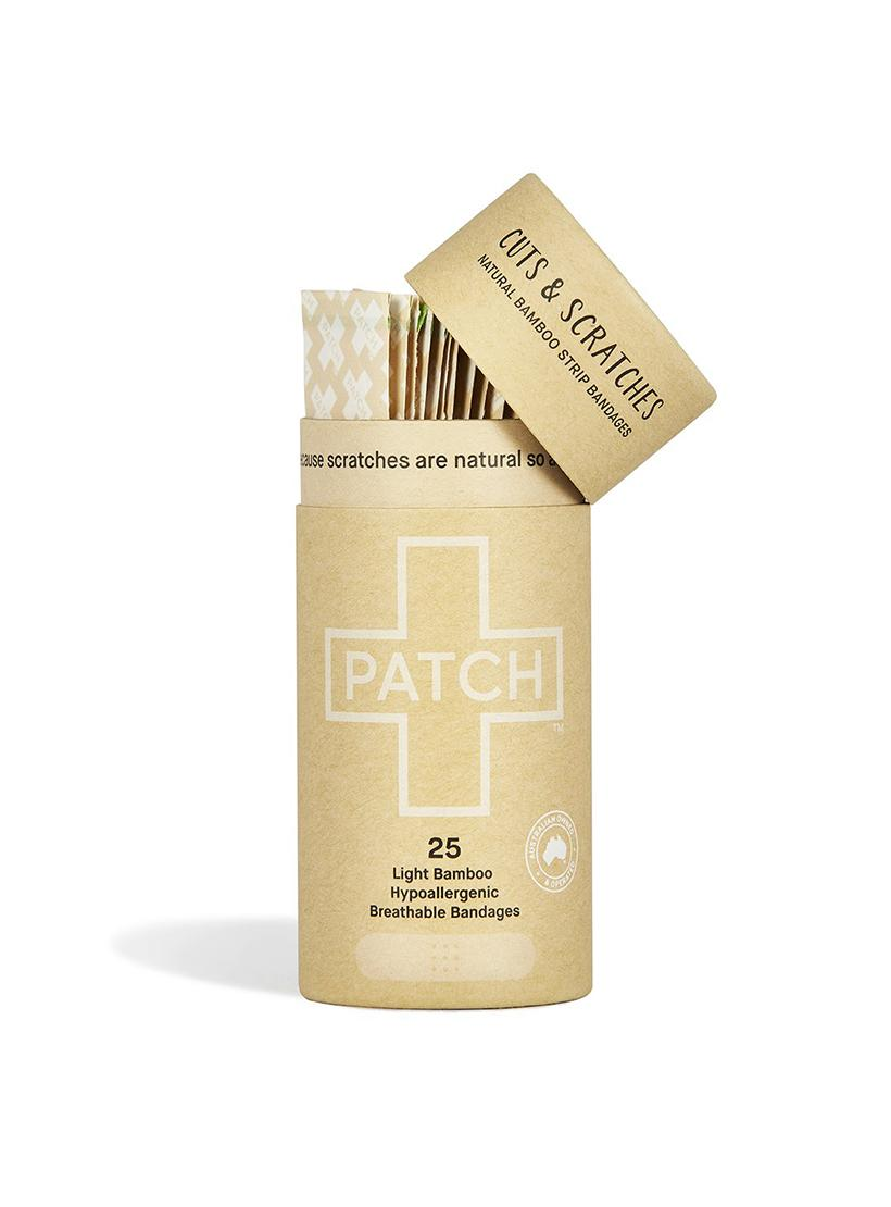 PATCH - Organic Bamboo Plasters 25 - Natural