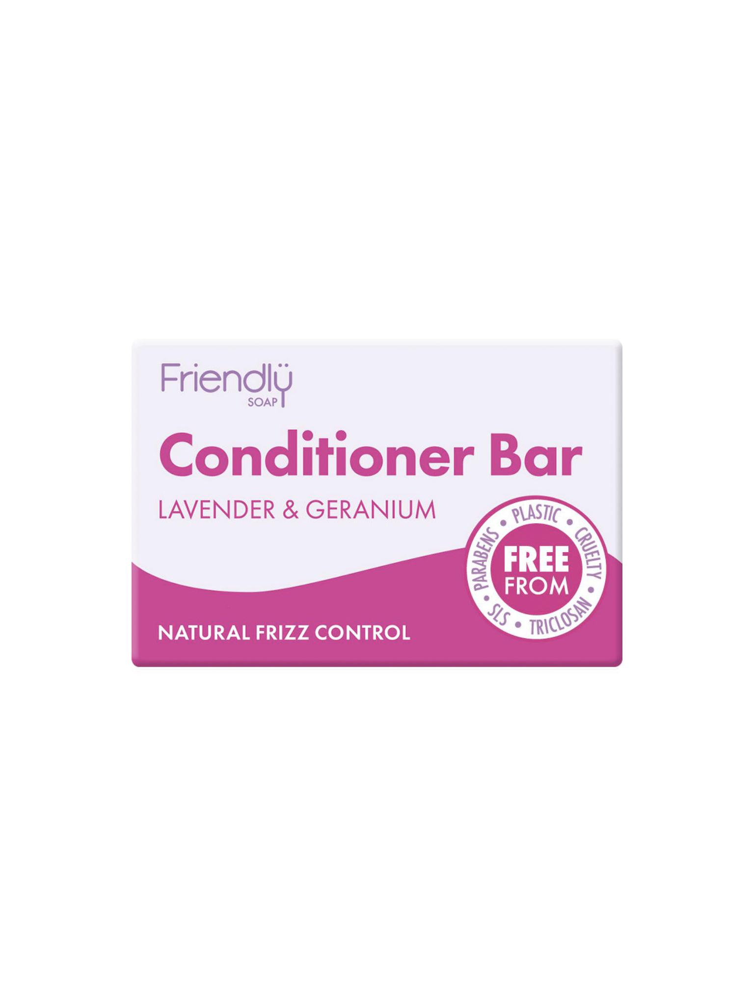 Friendly Soap - Lavender & Geranium Conditioner Bar