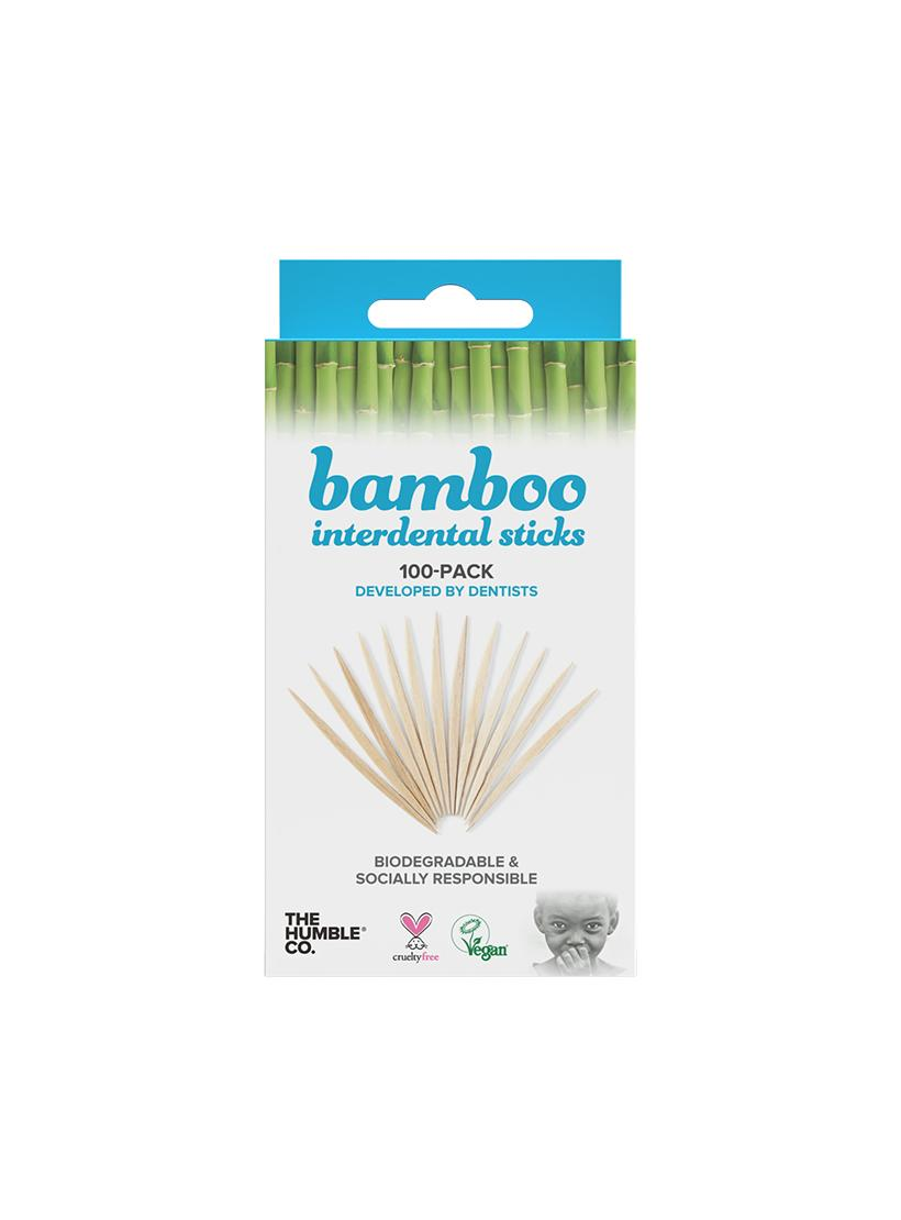 Bamboo Interdental Sticks - Pack of 100