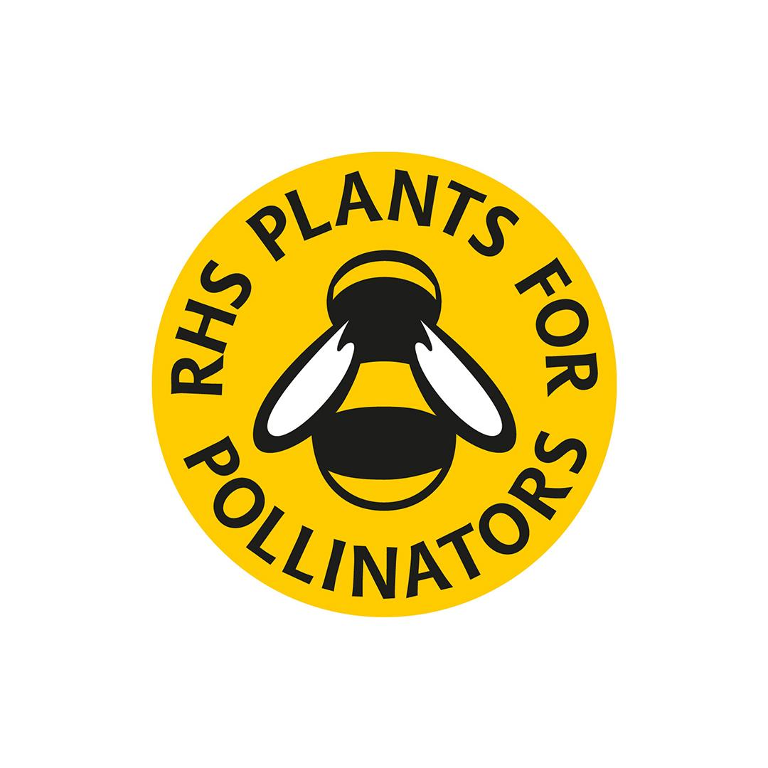 Plants for pollinators Badge