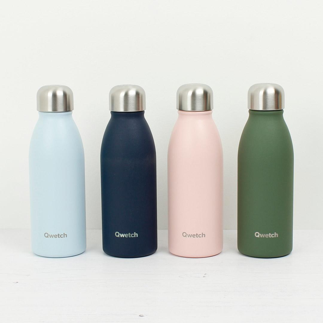 Stainless Steel ONE Bottle - Granite - Khaki - 500ml all colours in collection
