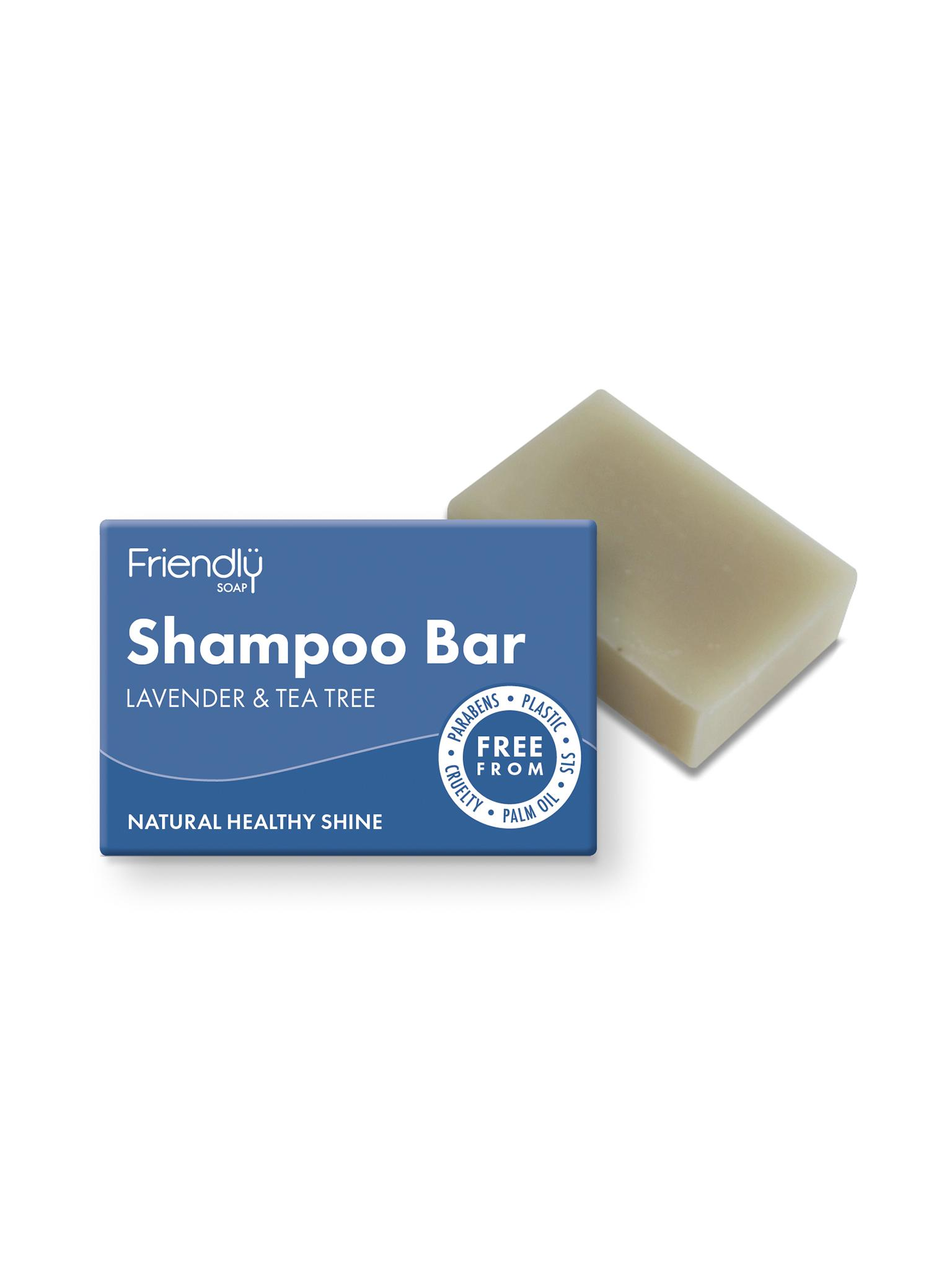 Friendly Soap - Lavender & Tea Tree Shampoo Bar