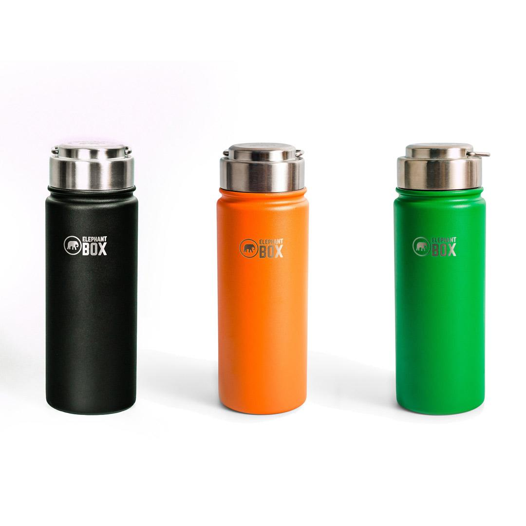 Elephant Box - Wide Mouth Insulated Bottle - 500ml