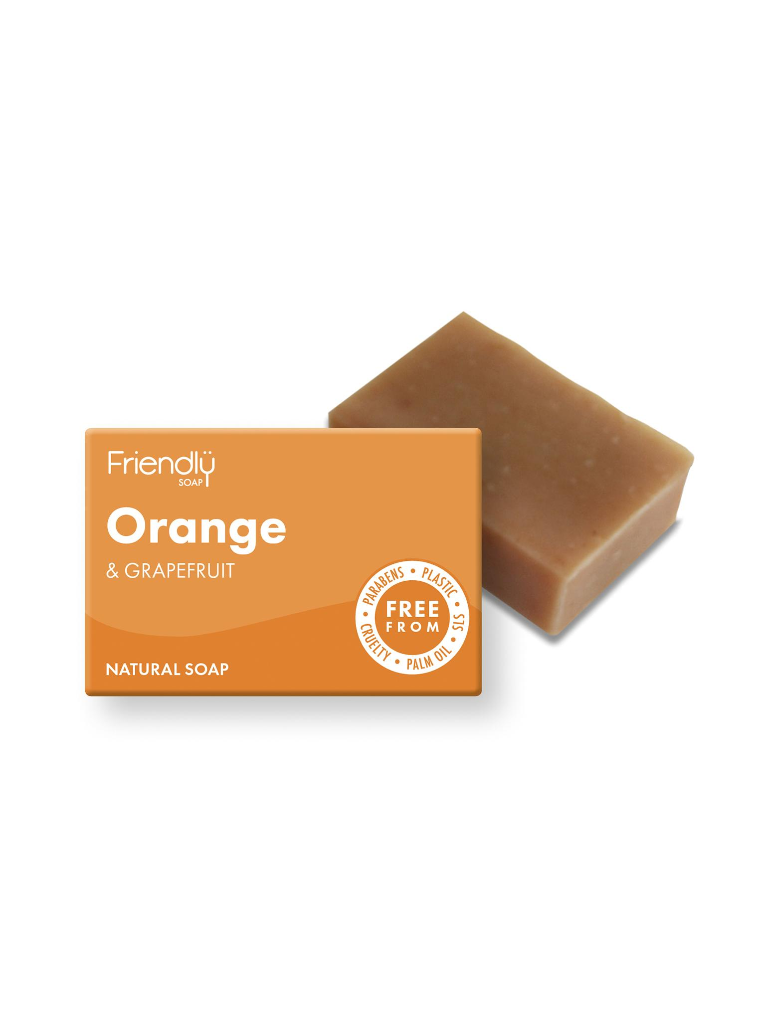 Friendly  - Orange & Grapefruit Soap
