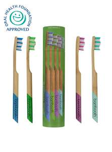 bambooth bamboo toothbrushes multipack
