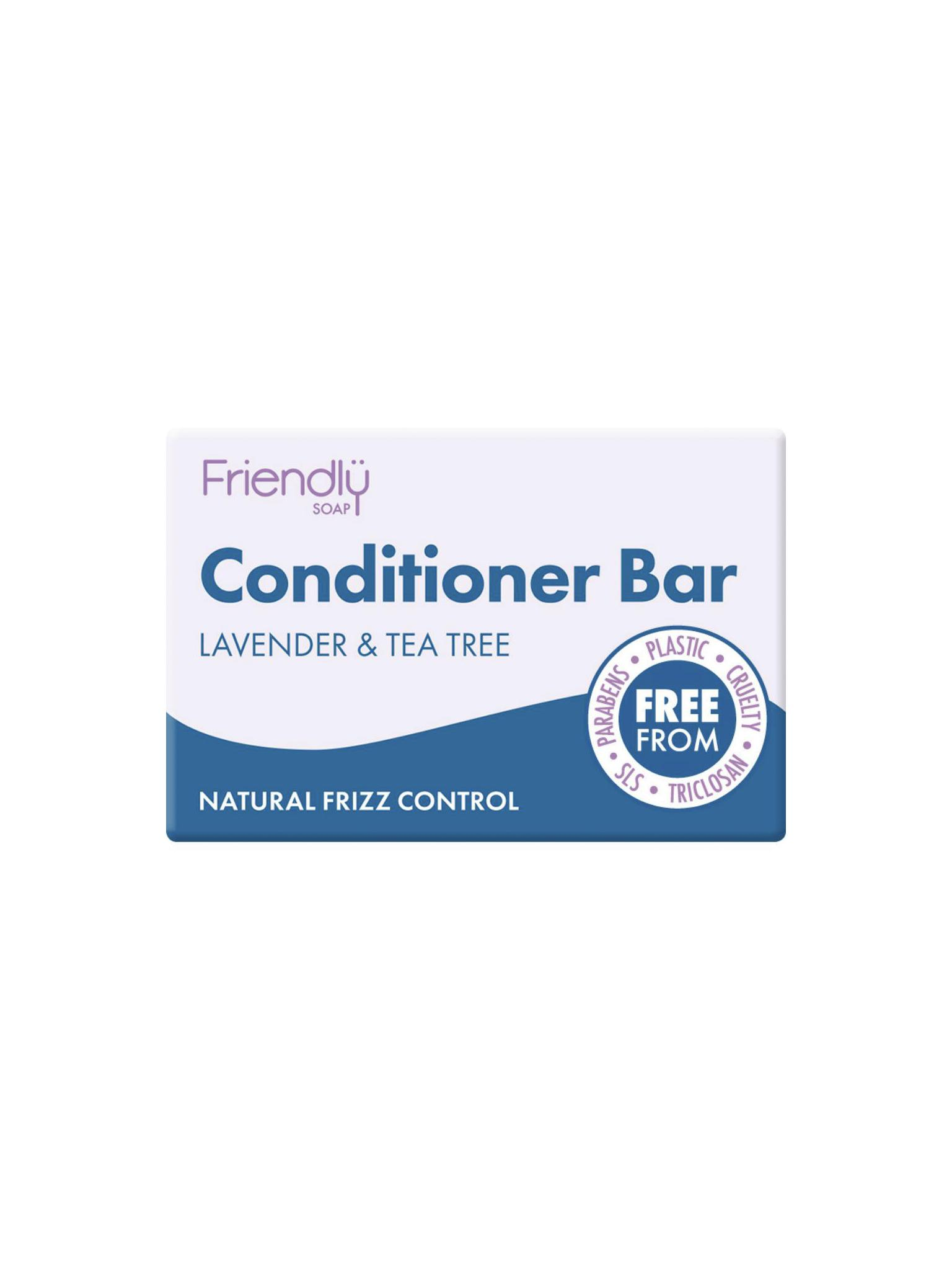 Friendly Soap - Lavender & Tea Tree Conditioner Bar