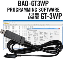 Programming Software and USB-73 cable for the Baofeng GT-3WP 1