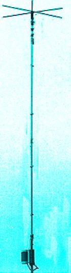 MFJ-1792 80/40m Vertical Antenna