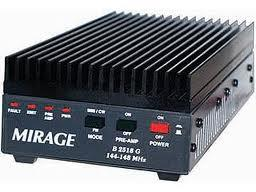 B-1018G Mirage 0.25-10W in, up to 160W out 2m Amplifier