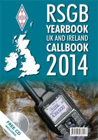 CB2014-BK YEARBOOK RSGB UK Amateur Radio Callbook 2014 edition