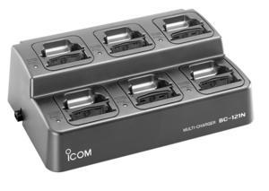 Icom BC-121N 6-way Rapid Charger for IC-A6 & IC-A24