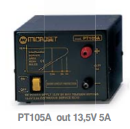 PT-105A Microset 5A 13.5V Power Supply