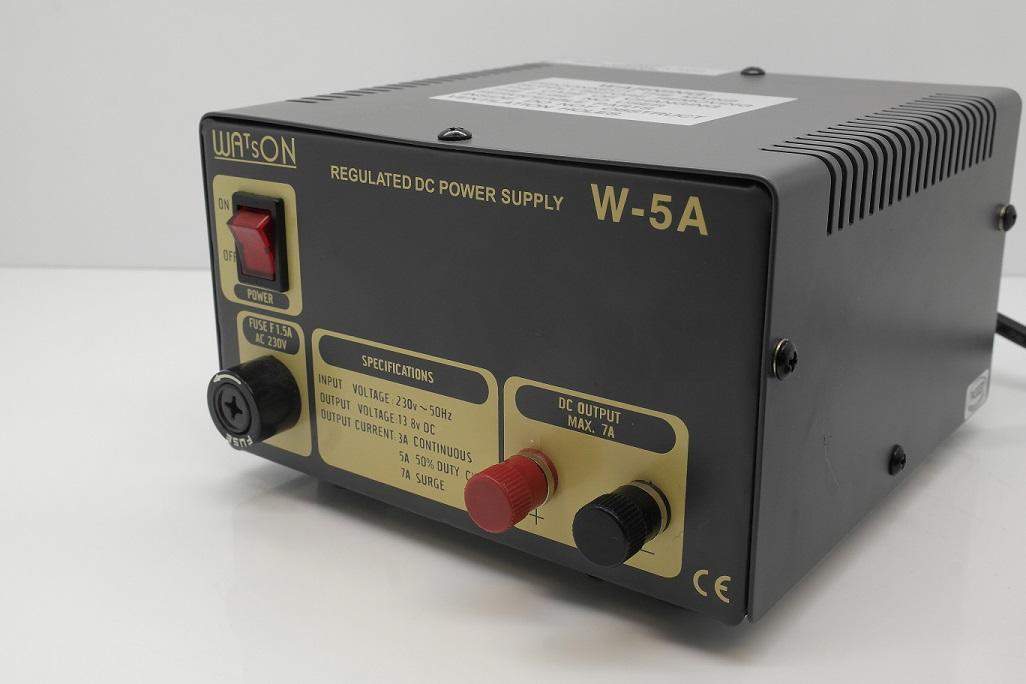 W-5A Watson 5A 13.8V Fixed Power Supply