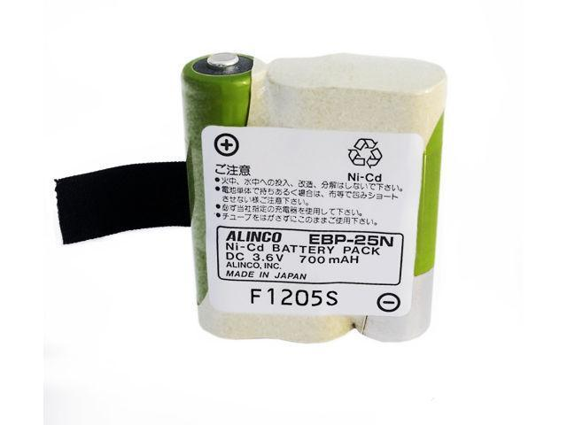 EBP-25N Ni-Cad Battery Pack 3.6V 700mAH