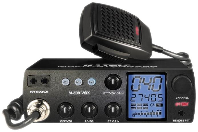 Intek M-899 VOX - multi channel CB radio